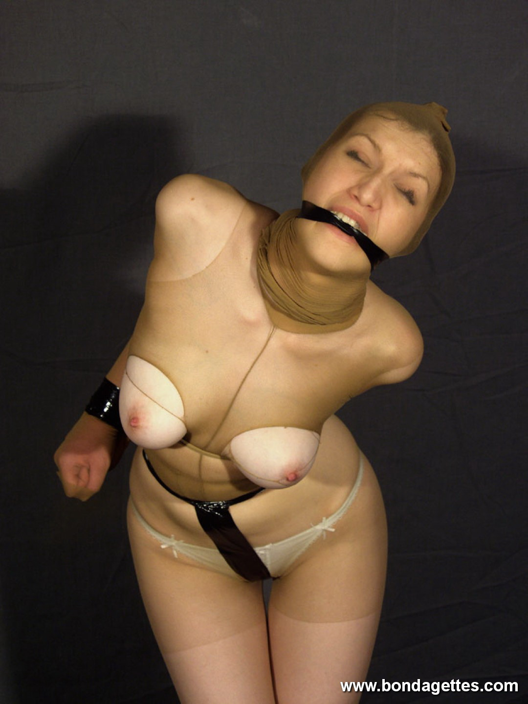 Bending bondage watching otngagged