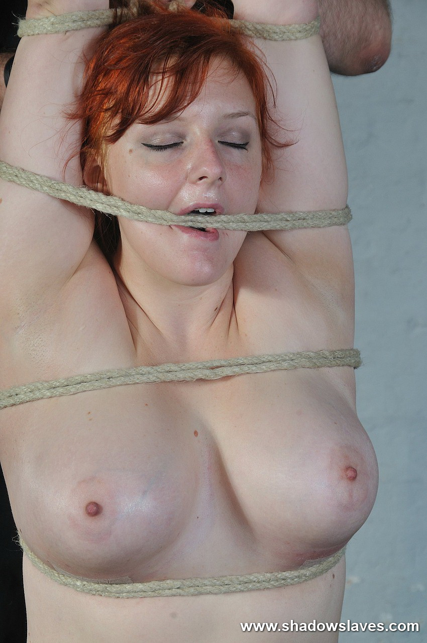 Remarkable, chubby redhead can