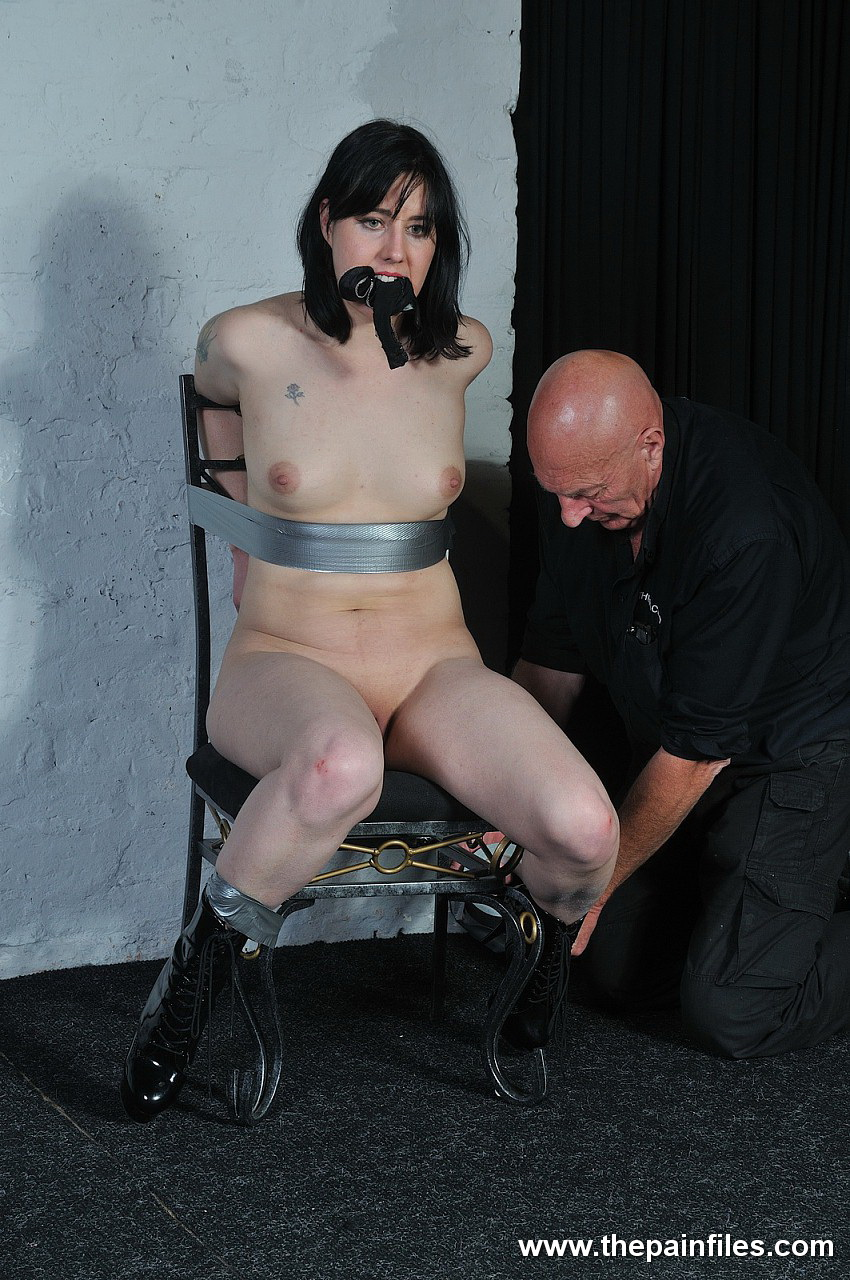 See bondage duct video her pink