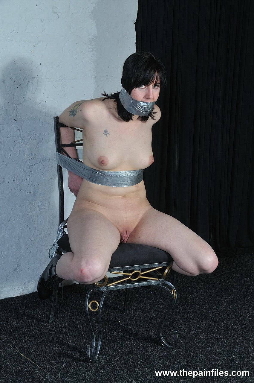 duct tape bondage
