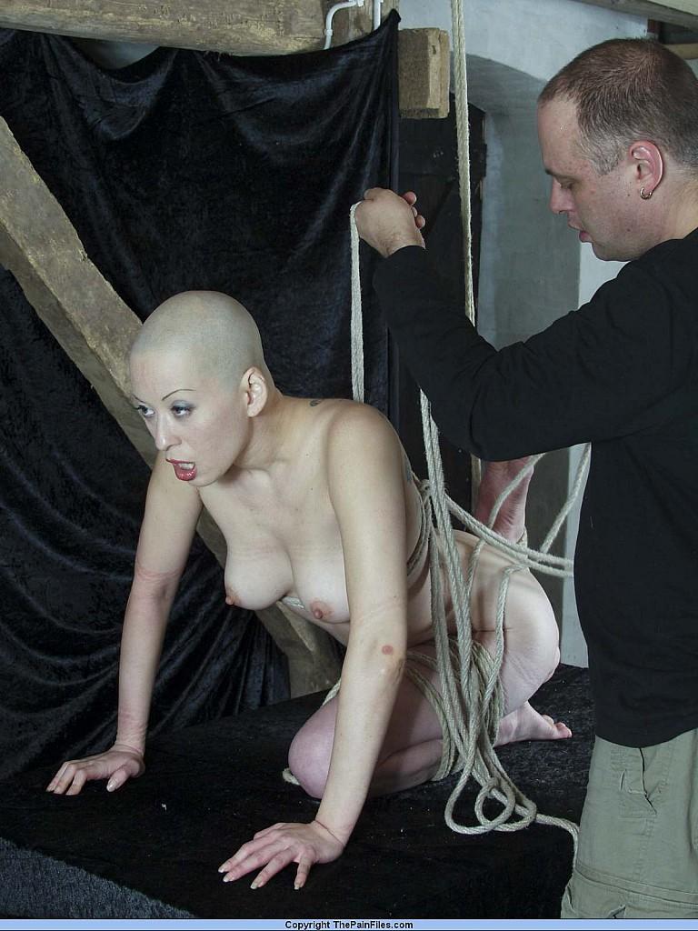 Girl bald slave Commanders Chapter