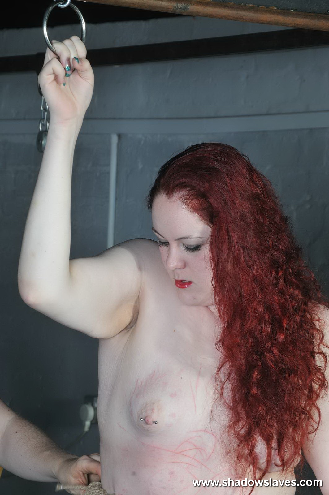 Bondage Redhead