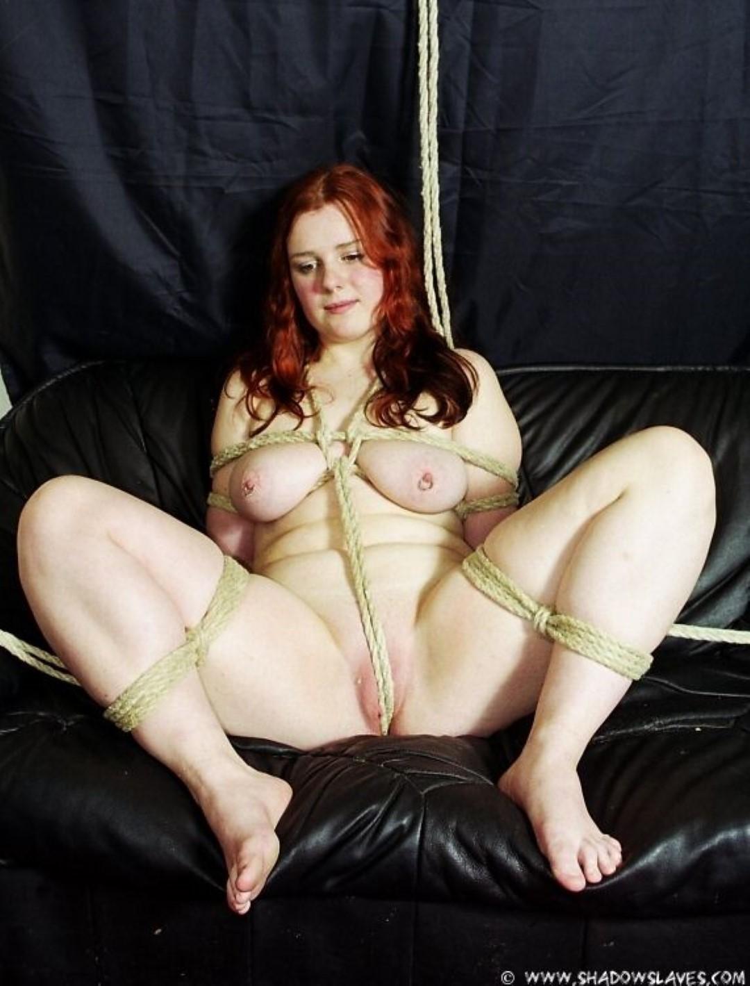 redhead chubby slut