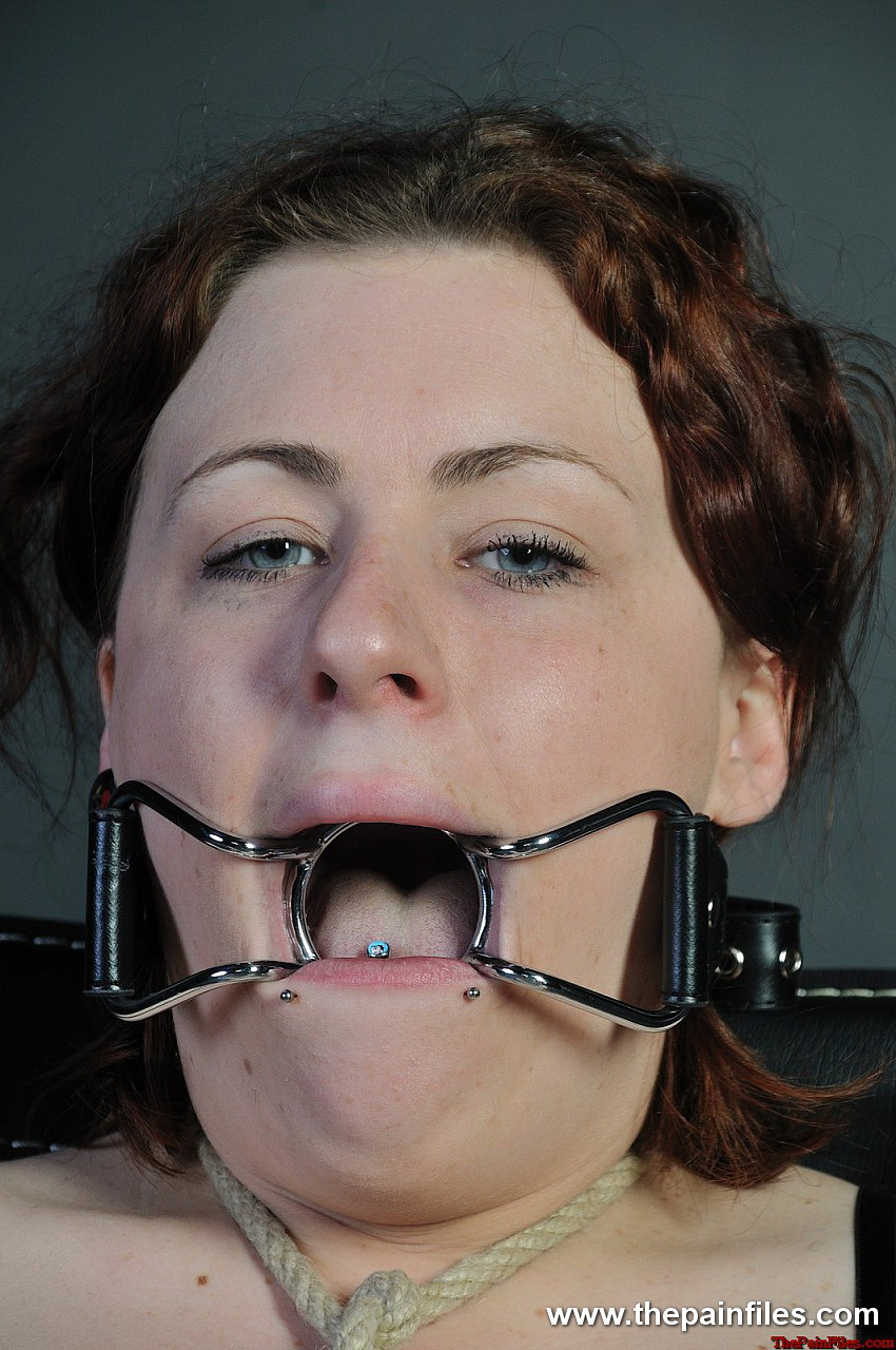 Ring gag bdsm this is our most extreme case 5