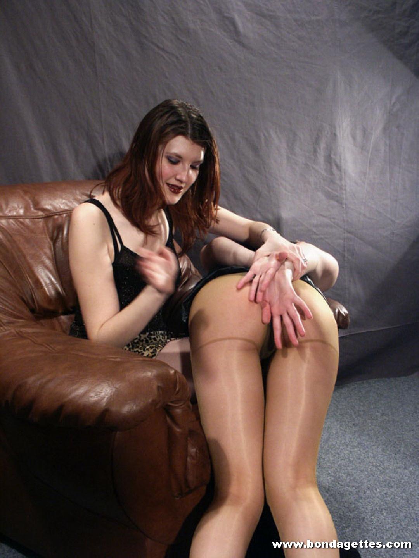 Submissive threesome