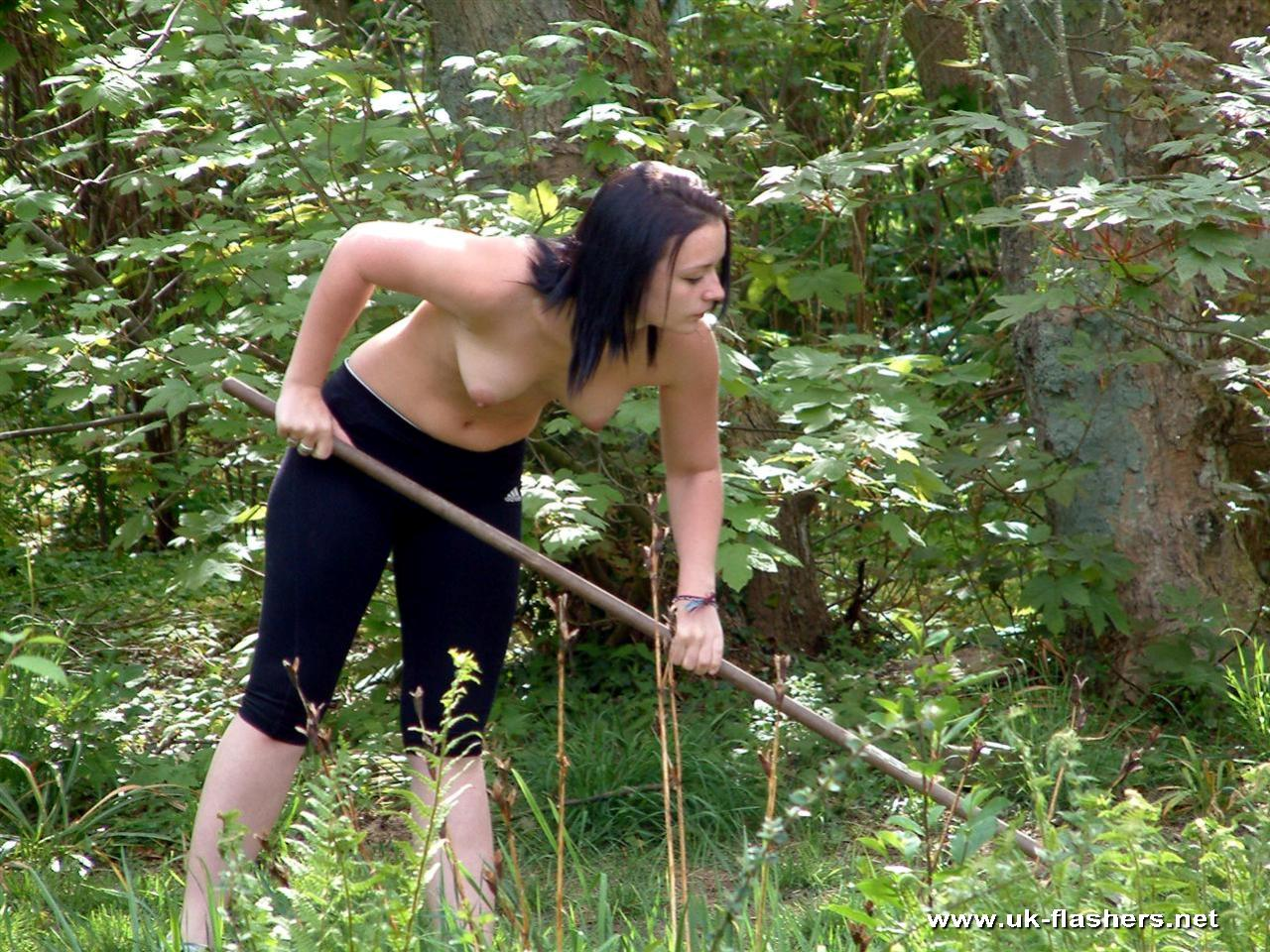 Fairy Porno Teenage Girls Doing Yard Work