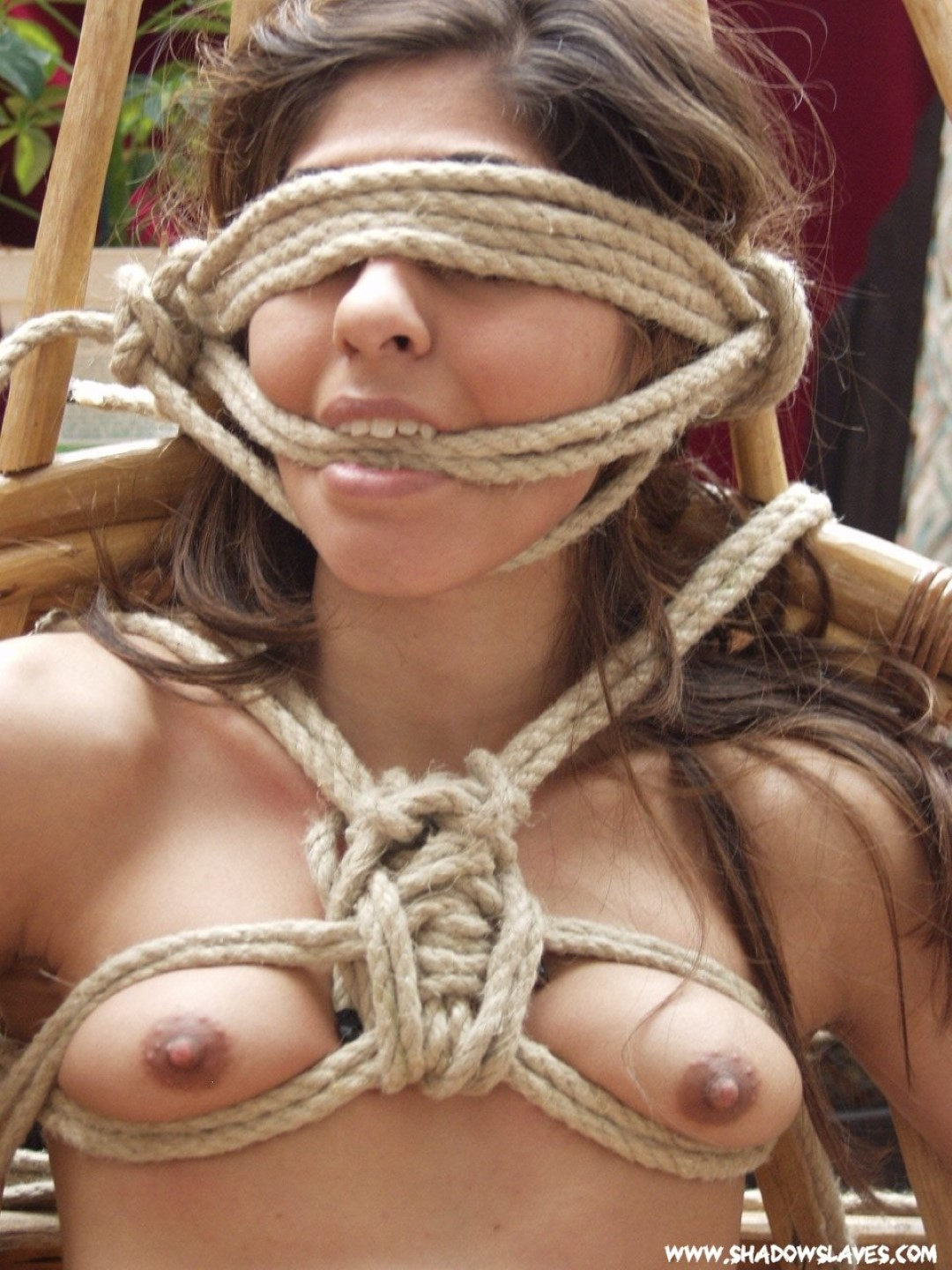Regret, that, bondage with ropes something is