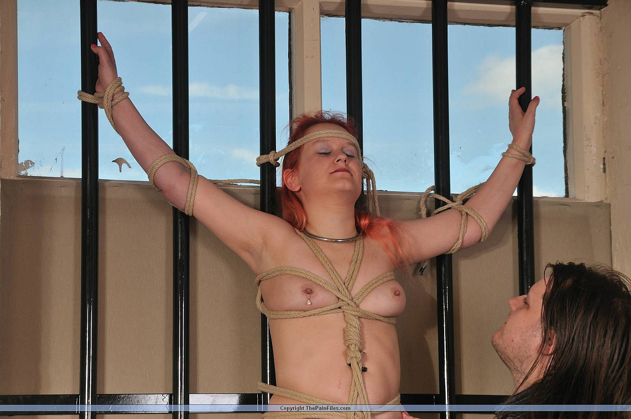 Anal threesome lesbian sex in jail